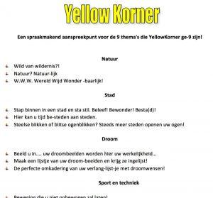 YellowKorner bedrijfsvoorstelling